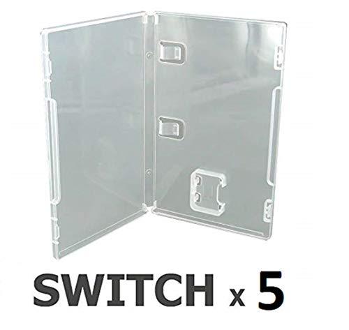 Pack 5 Cajas vacías para Nintendo Switch