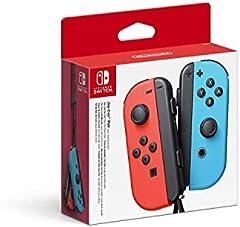 Nintendo - Mando Joycon Set, Color Azul Y Rojo (Nintendo Switch)