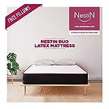 NESTIN Brands Natural Latex Foam Mattress for Queen Bed (72X60X4)