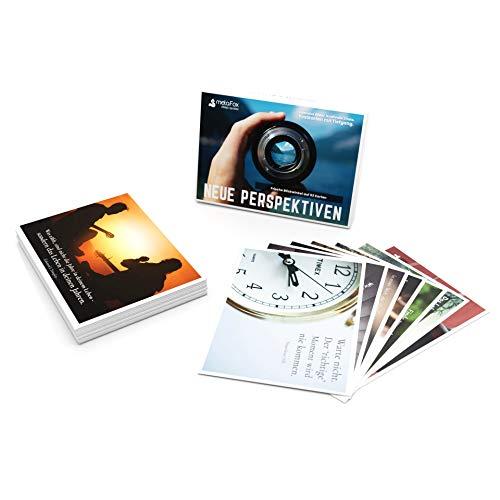 metaFox | Neue Perspektiven | 52 Zitate Postkarten mit Bildern zur Inspiration (Deutsch)