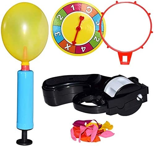 ABS Russian Roulette Max quality assurance 80% OFF Balloon Fun Toy Party Interac with Set Pump