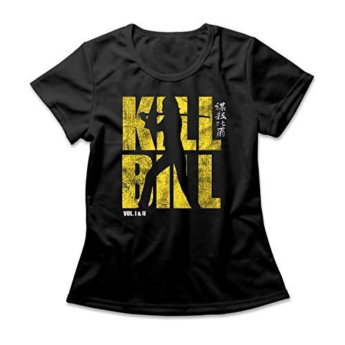 Camiseta Feminina Kill Bill Logo