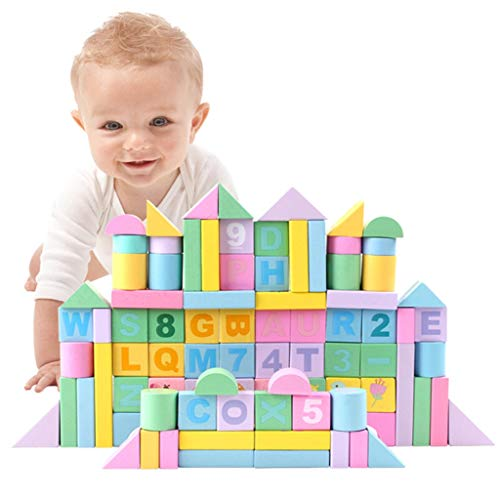 Lowest Price! LS Building Blocks - Children's Building Blocks Boy Girl 1-6 Years Old Early Education...