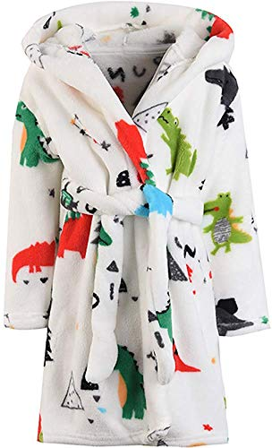 Boys BC BARE COTTON Kids Microfiber Fleece Shawl Robe