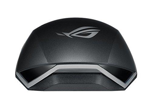 Asus ROG Pugio Mouse Ottico Gaming, Ambidestro, 7200 DPI, Aura Sync RGB, Interruttori Omron, Tasti Laterali Configurabili