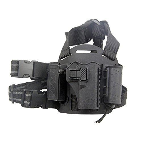 JINJULI Quick Release Tactical Right Leg Thigh Pistol...