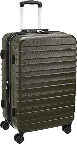 Anda Shop Premium Quality Hardside Rugged Luggage Suitcase 68cm - Green