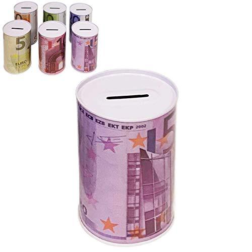 La Bolata Hucha metálica con diseño de Euros 16 x 12 cm