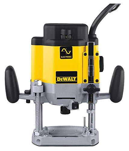 DEWALT DW625E-QS Fresatrice, 2200 W, 220 V, Multicolore (Nero/Giallo)
