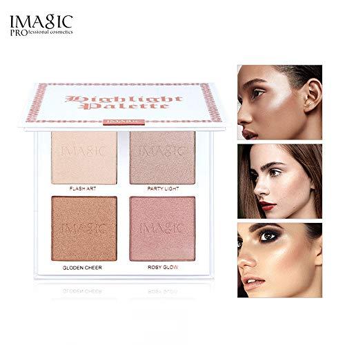 Nourich 4 Color Palette De Correcteur Imperméable Maquillage de Crème Correcteur de longue durée Correcteur de Texture Lisse pour Cernes, Hydratation Couvrance des pores Correcteur (01#)