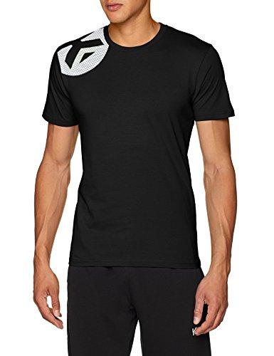 KEMPA - CORE 2.0 T-SHIRT - T-Shirt Handball - Col Rond - Logos Kempa - noir - L