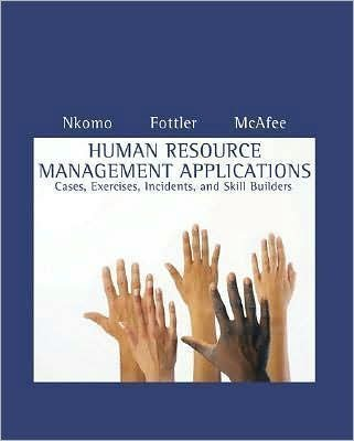 Human Resource Management Applications xt only)6th (Sixth) edition by S.M. Nkomo by M.D. Fottler -  South-Western College Pub