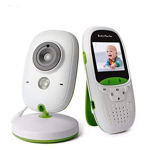 SWEET Moniteur pour Bébé avec Caméra Et Audio WiFi Support Multilingue Surveillance De La Température Et Fonction De Vision Nocturne Automatique Autonomie De La Batterie Jusqu'à 8 Heures