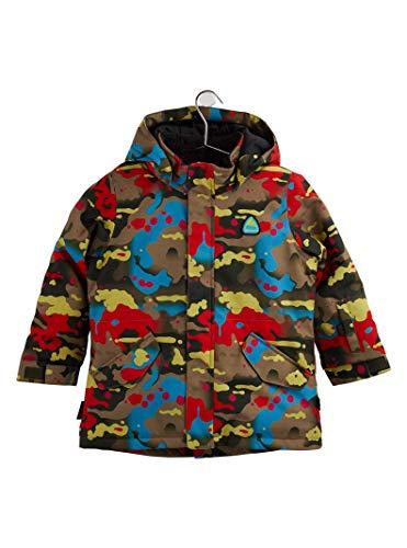 Burton Kids Parka Jacket, Bright Birch Camo, 3T