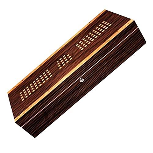 QULONG Zigarettenetui Humidors Paint Cigar Cigar Cabinet mit großer Kapazität Cedar Cigar Cabinet Edelstahlgriff Dickes Metallscharnier Kochen & Essen