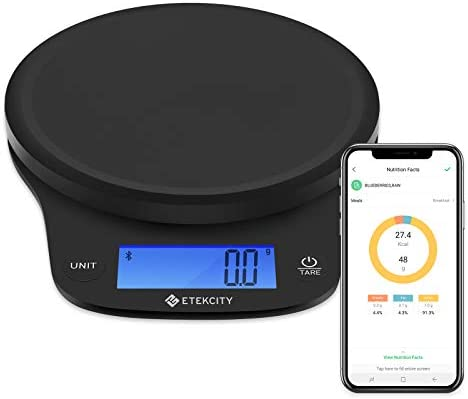 Etekcity 0 1g Food Kitchen Scale Digital Weight Grams and Oz for Cooking Baking Meal Prep and product image