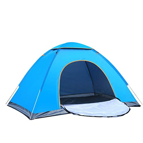 Garciadia 2 Personen Strand Zelt Ultraleicht Klapp Automatische Offene Zelt Familie Tourist Fisch Camping Anti-UV (Farbe: Blau)