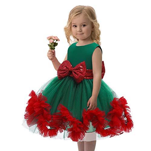 Niet te gebruiken jurken voor meisjes, feestjurk, kant met ruches, bloemenmeisjes, bruiloftsjurk, formele tutujurk, doopjurk.