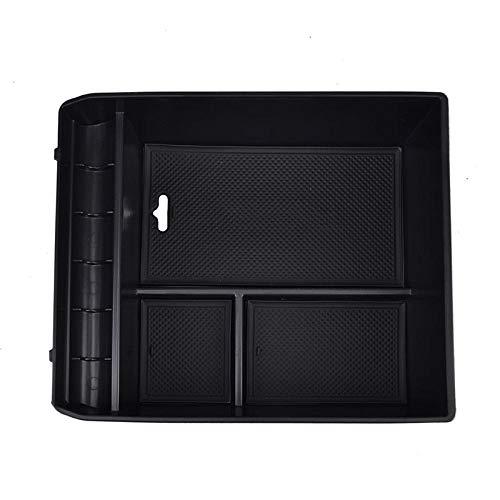 Reposabrazos caja de almacenamiento central apta para Toyota Land Cruiser Prado J120 sin consola de nevera bandeja de guantes soporte de caja 2004-2008 2009