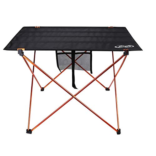 G4Free Ultraleicht Folding Camping Tisch Portable Roll Up Camp Tabellen mit Tragetasche für Outdoor-Camping Wandern Picknick
