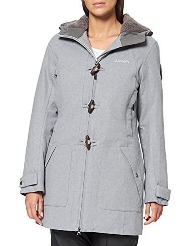 Schöffel Duffle Coat Bregenz1 Veste Femme High-Rise FR : 2XL (Taille Fabricant : 48)
