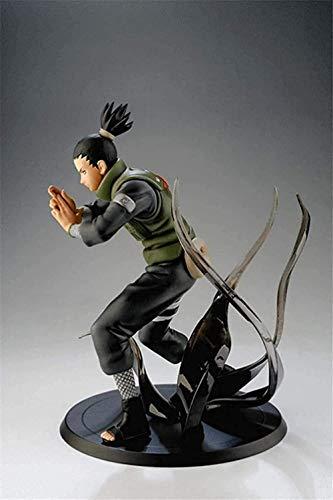 ZYBZGZ Christmas Cheap Naruto 14CM Nara Shikamaru Shadow PVC Figura de accion Sasuke Collect Model Doll Toys Regalos para ninos Decoracion de Escritorio SQ7