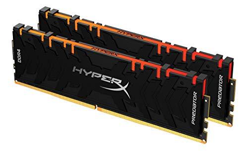 HyperX Predator HX432C16PB3AK2/64 Memoria 3200MHz DDR4 CL16 DIMM XMP 64GB Kit (2x32GB) RGB