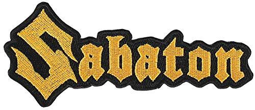 Sabaton - Logo Aufnäher/Aufnäher