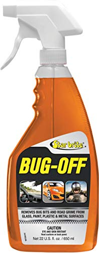 Star brite Bug Off - All Surface Automotive Insect Remover - 22 oz Spray (92722)