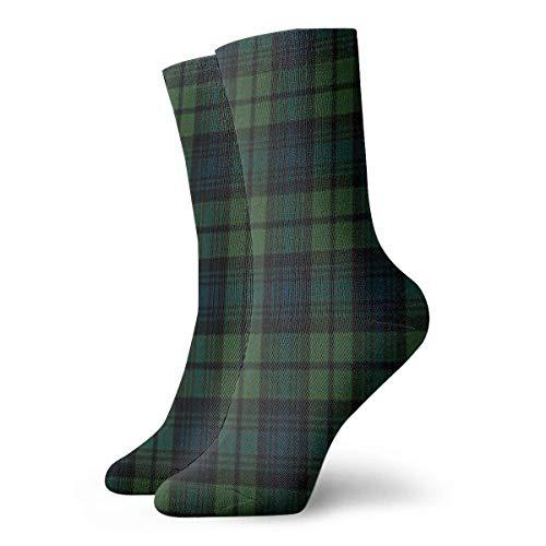 Chongha Unisex Schotse ruiten, plaid onder, athltafel, lange sportsokken, voor mannen en vrouwen