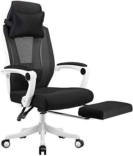 N/Z Life Equipment Chaise pivotante Bureau Multifonction Reste de Bureau à Double Usage Respirant Lifting Home Esports Chaise pivotante pour Ordinateur et Styles Chaise rotative à 360 degrés