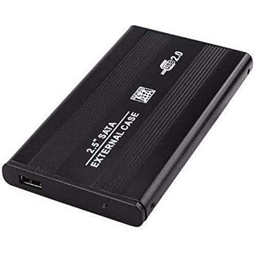 Case Hd Externo Notebook 2,5 Pol Usb 2.0 Sata + Capa