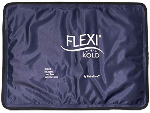 FlexiKold Gel Kühlpad & Kühlkompresse – Kühlkissen & Kühlbeutel für z.B. Knie, Augen & Gesicht – Kühlpack Größe: Normal in 26,5 cm x 36,8 cm – A6300-COLD