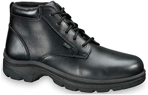 Thorogood Women's 534-6906 Soft Streets Series - Plain Toe Chukka, Non-Safety Toe Shoe, Black - 7.5 W US