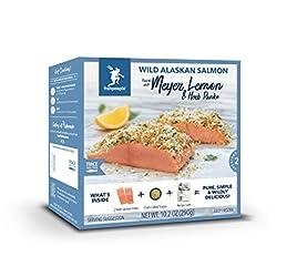 Fishpeople Wild Alaskan Salmon Kit - Meyer Lemon & Herb Panko (2 fillets + Crunchy Topper + Recipe C