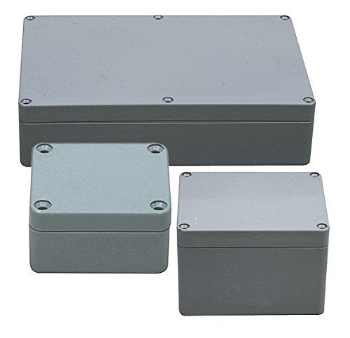 Fixapart BOX G378 Grau Elektrische Box - Elektrische Boxen (Grau, 185 mm, 95 mm, 265 mm)