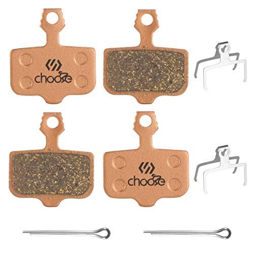 Chooee 2 Pares Pastillas de Freno para Avid Elixir E1 E3 E5 E7 E9 ER CR SRAM X0 XX DB1 DB3 DB5 Organicas