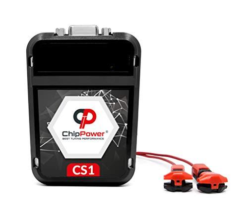 Chip de Potencia ChipPower CS1 para Megane Mk1 I 1.9 DTi 59 kW 80 CV 1996-2003 Tuning Box Diesel ChipBox Más Potencia del Coche