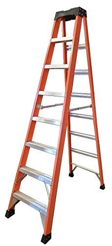 Tradecraft 8' Fiberglass Step Ladder Grade 1A 300lb