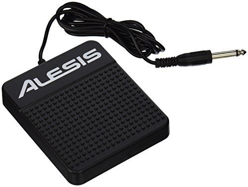 Alesis ASP-1 - Pedal Universal de sostenido para teclados electrónicos, pianos digitales, controladores MIDI, sintetizadores