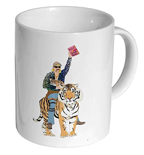 Tiger King Joe Exotic Caroles Diary Funny Ceramic Coffee Mug/Cup