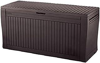 Keter -  Arcón exterior Comfy, Capacidad 270 litros, Color marrón