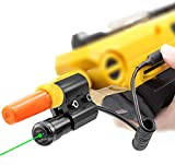 Megwoll Green Laser Sight for Salt Gun 2.0 3.0,Green Laser Bug Fit All Airsoft BB Pump's Accessories