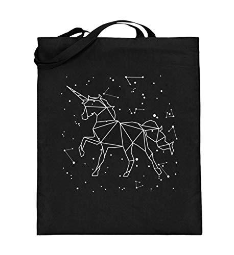 Generisch Sternbild Einhorn Sternzeichen Jutebeutel | Astrologie Sterne Süß Baumwolltasche