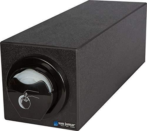 Buy Discount San Jamar L2910BK Polystyrene EZ-Fit Lid Dispenser Box System with L2200C in-Counter Li...