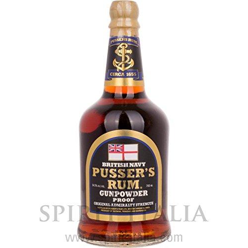 Pusser's Rum Gunpowder Proof 54,50% 0.7 l.