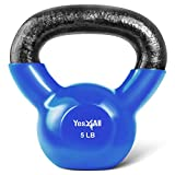 Yes4All Vinyl Coated Kettlebell...