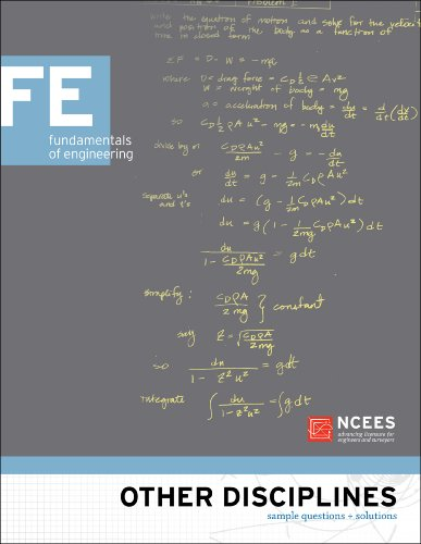 Other Disciplines: FE Sample Questions and Solutions