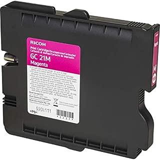 Ricoh 405534 Magenta Ink Print Cartridge Type GC21M