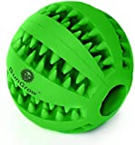 SunGrow Teething Treat Ball for Dogs, Interactive Pet...